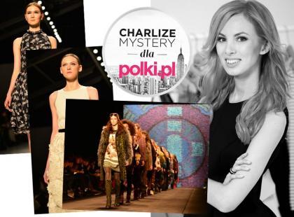Charlize Mystery: ostatnie pokazy kolekcji jesień-zima 2015/2016