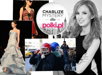 Charlize Mystery: pokazy Herrery, Hilfigera i Custo Barcelona