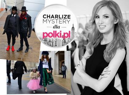 Charlize Mystery: uliczne inspiracje z New York Fashion Week