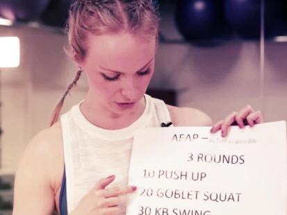 Chcesz podjąć wyzwanie crossfit? Zacznij od treningu AFAP!