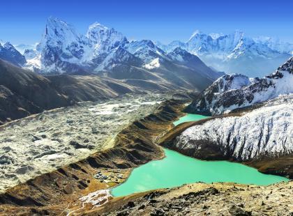 Chcesz zobaczyć najwyższe himalajskie szczyty? Wybierz się na trekking Gokyo