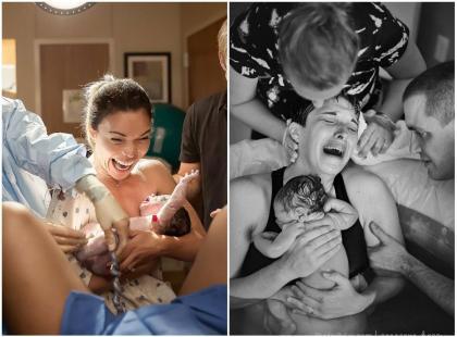 """""""Chciałam pokazać, że poród nie jest czymś ohydnym"""". Udało się? Zobaczcie 18 intymnych zdjęć"""