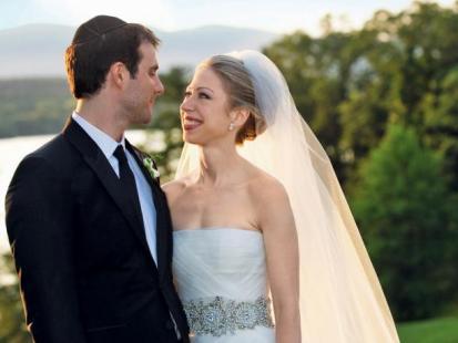 Chelsea Clinton i Marc Mezvinsky - Ślub prezydentówny