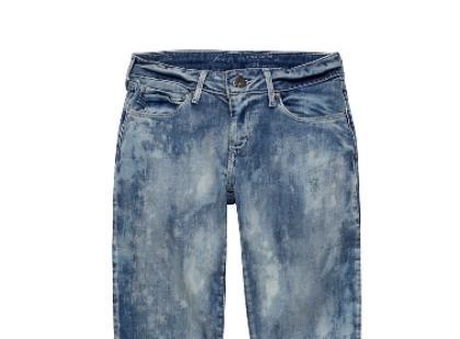 Chemiczny piling na spodniach - marmurki wracają do sklepów