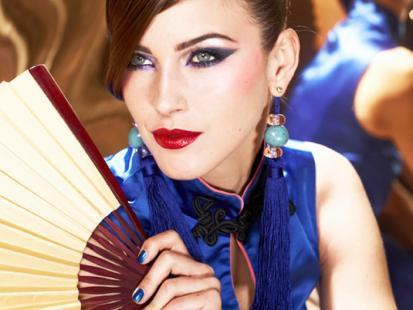 Chińska laleczka PUPA - makijaż na jesień 2012