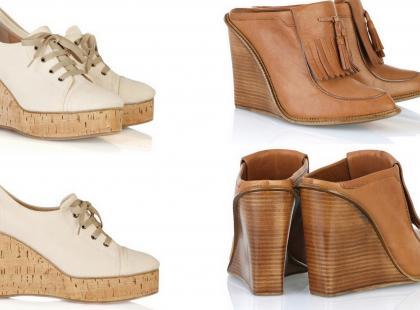 Chloé Wedges - kolekcja butów na koturnie wiosna/lato 2010