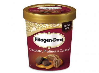 Chocolate, Pralines & Caramel - zniewalająca nowość od Haagen - Dazs!