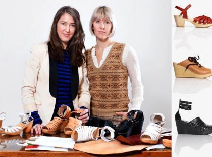 Chodaki Swedish Hasbeens, dla H&M
