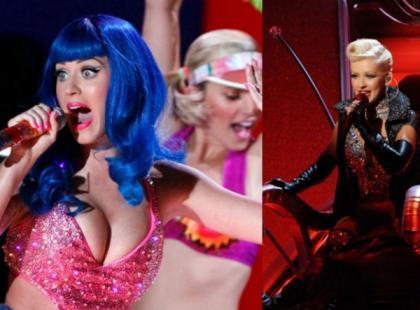 Christina Aguilera i Katy Perry na MTV Movie Awards