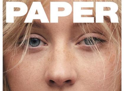 """Christina Aguilera na okładce magazynu """"Paper"""" bez makijażu. Jest nie do poznania!"""