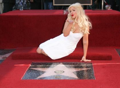 Christina Aguilera uhonorowana gwiazdą w Hollywoodzkiej Alei Sław