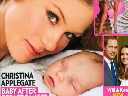 Christina Applegate pokazała córeczkę
