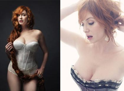 Christina Hendricks w negliżu dla New York Magazine