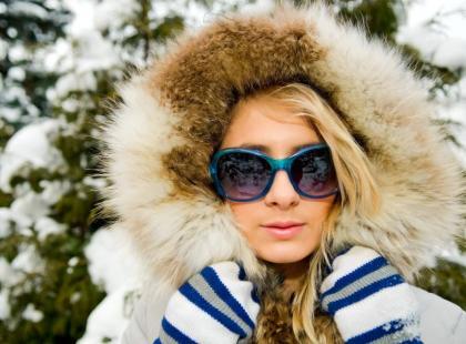Chroń oczy zimą