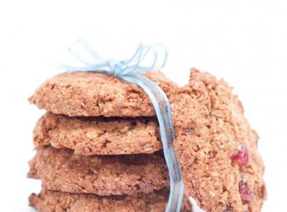 Ciasteczka pełnoziarniste dla tych, co chcą być fit!