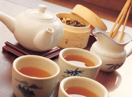 Ciastka, herbata, kawa