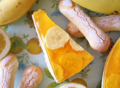 Ciasto bananowiec bez pieczenia - Kasia gotuje z Polki.pl