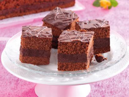 Ciasto czekoladowo-morelowe