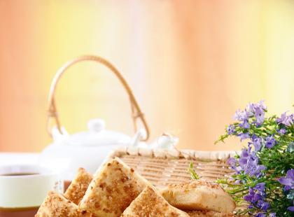 Ciasto francuskie z gruszkami
