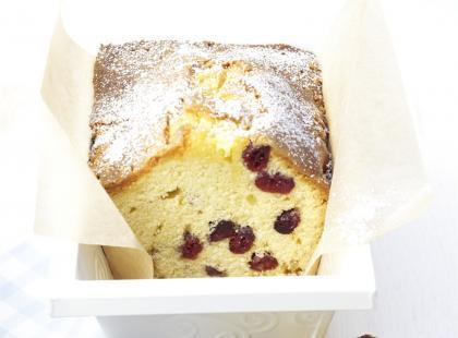 Ciasto marcepanowo-żurawinowe na Boże Narodzenie