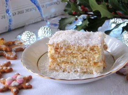 Ciasto Rafaello bez pieczenia - Kasia gotuje z Polki.pl