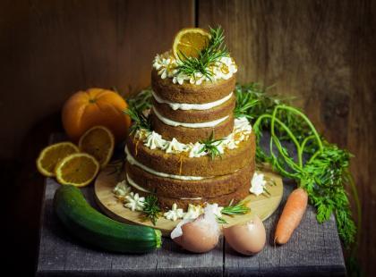 Ciasto z cukinii, to nie tylko brownie! To również włoska babka na oliwie z oliwek! Sprawdź!