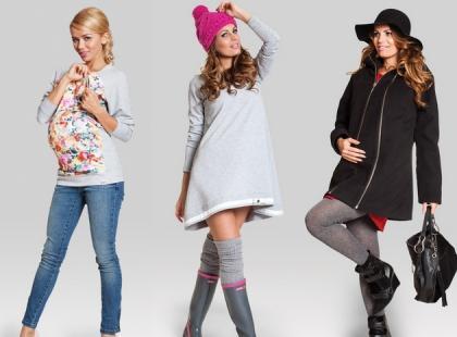 Ciążowa moda na jesień i zimę!
