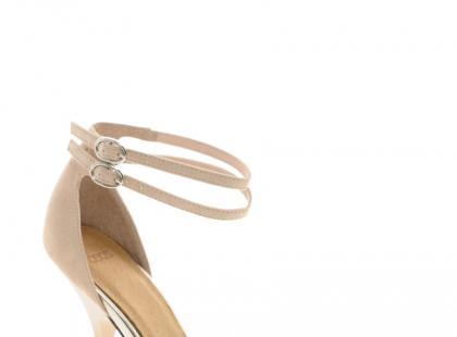 Cieliste buty na sylwestra, karnawał i studniówkę