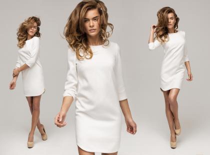 Ciepła sukienka na 3 sposoby!