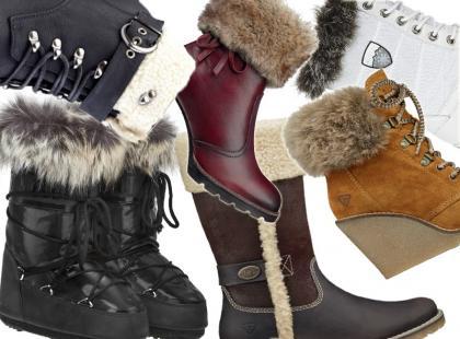 Ciepło, cieplej! Buty z kożuszkiem lub futerkiem