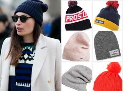 Ciepło, cieplej... Wybrałyśmy 13 modnych czapek na mroźne dni