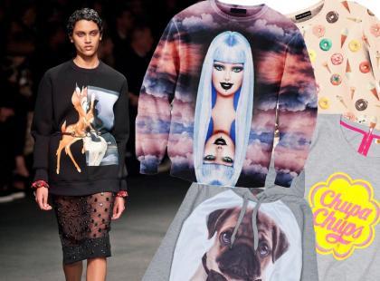 Ciesz się modą: bluzy z zabawnymi nadrukami