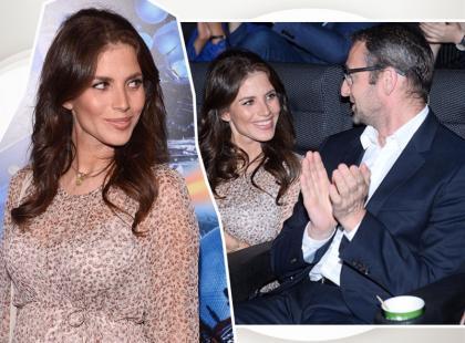 Ciężarna Rosati nie ukrywa już brzuszka! Na premierze pojawiłą się z partnerem. Wyglądali na bardzo zakochanych!