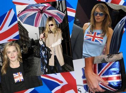 Ciuchy z flagą brytyjską