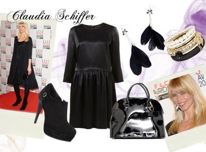 Claudia Schiffer - Styl gwiazd
