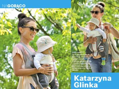 Co Glinka robiła z synem w wakacje?