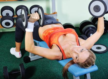 Co można złapać na siłowni?