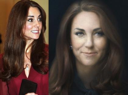 Co oni jej zrobili?! Okropny oficjalny portret księżnej Kate