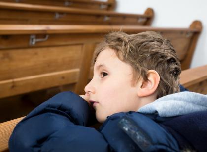 Co robić, gdy dziecko nie chce chodzić do kościoła i przystąpić do Pierwszej Komunii Świętej?