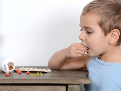 Co robić, gdy dziecko połknęło nie swoje leki?
