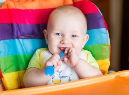 Co rodzice sądzą na temat żywienia małych dzieci?