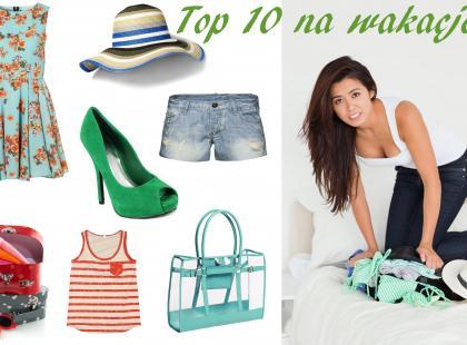 Co spakować na wakacje? - Top 10 niezbędnych rzeczy