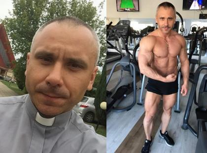 Co za sylwetka! Zobaczcie zdjęcia polskiego księdza kulturysty!