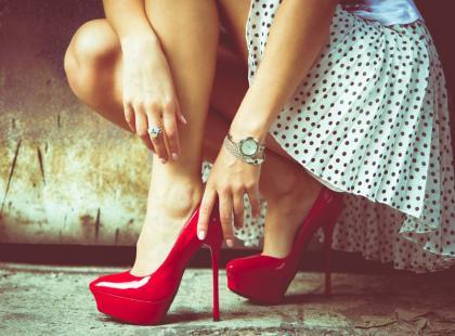 Co zrobić, gdy buty farbują?