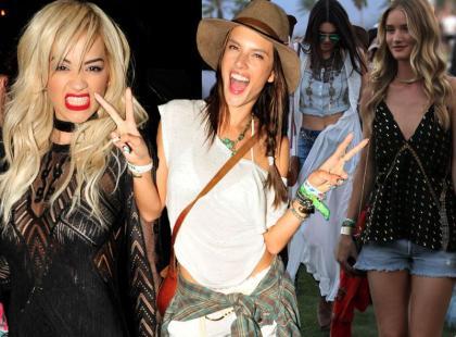 Coachella 2014, czyli 20 modnych stylizacji gwiazd na festiwalu