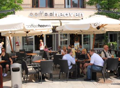coffeeheaven przy Rynku Głównym w Krakowie