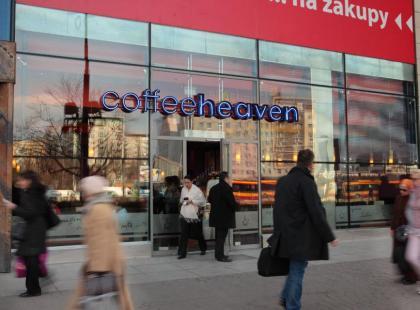 coffeeheaven w Millennium Plaza