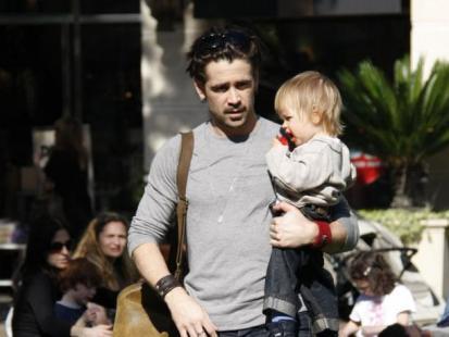 Colin Farrell wreszcie znalazł czas dla syna!