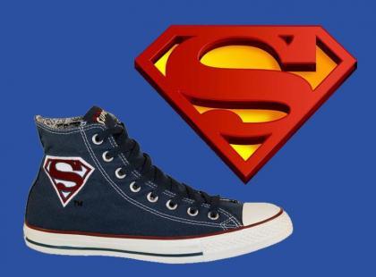Converse Chuck Hi z Superbohaterami
