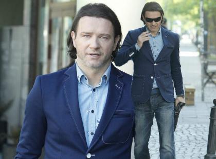 """Coraz bardziej stylowy Radosław Majdan w drodze do """"DDTVN"""""""